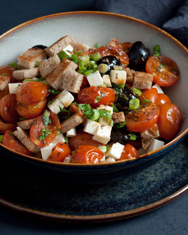 Grilltomaten Salat