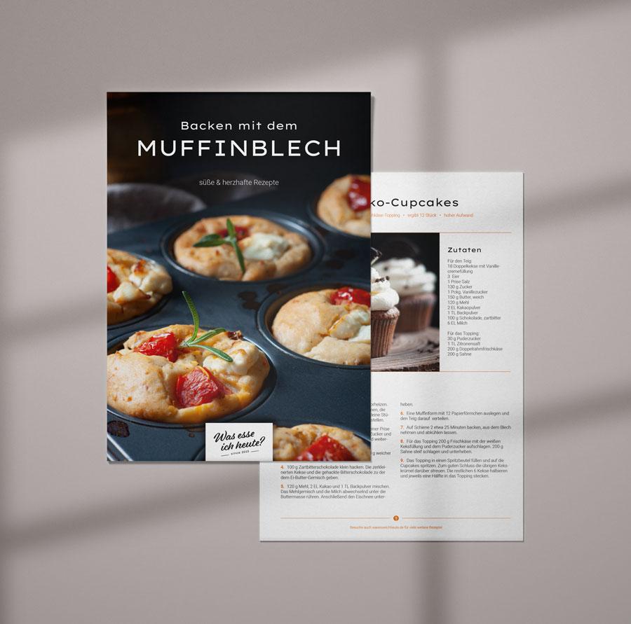 """Rezeptheft """"Backen mit dem Muffinblech"""""""
