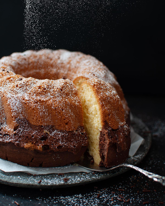 Rezept für Marmorkuchen aus der Gugelhupf Form