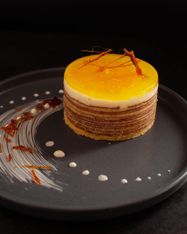 Rezept Orangentörtchen mit Schoko-Sahne