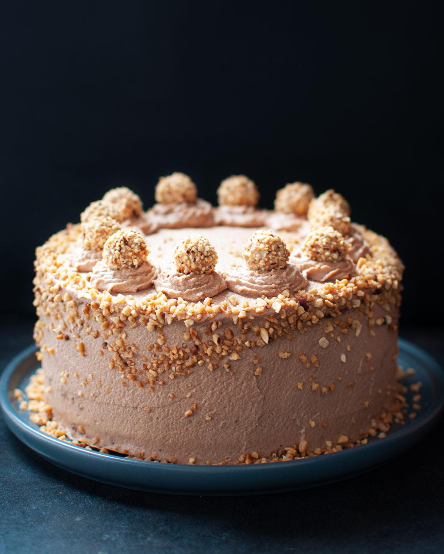 Rezept für Giotto Torte mit Haselnuss