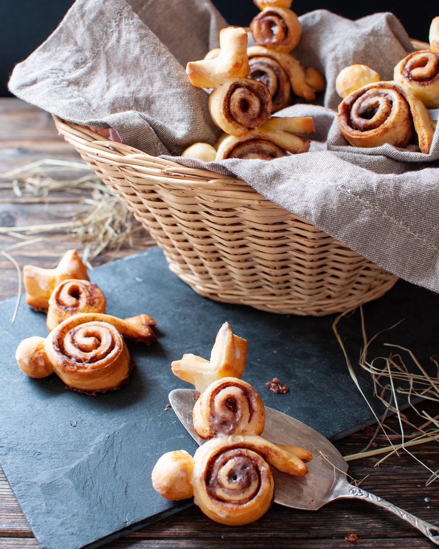 Zimthäschen: Rezept für süßes Ostergebäck